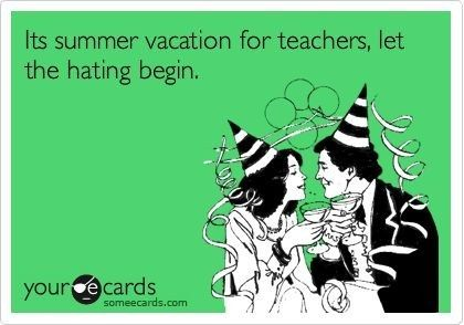 You're making your non-teacher friends jealous with your weekday beach and hammock pictures. | 26 Signs You're A Teacher On Summer Break