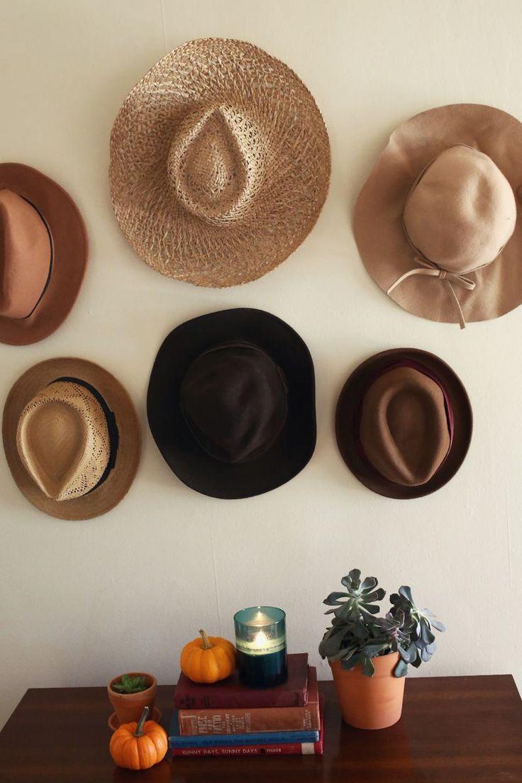 Mejores 30 im genes de sombreros para tu hogar en - Decoracion de sombreros ...