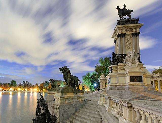 Estanque del Retiro - Madrid