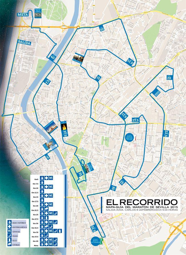 TARGET: Maratón de Sevilla. Seville Marathon on 21/02/2016. AIM: Sub 4 hrs.