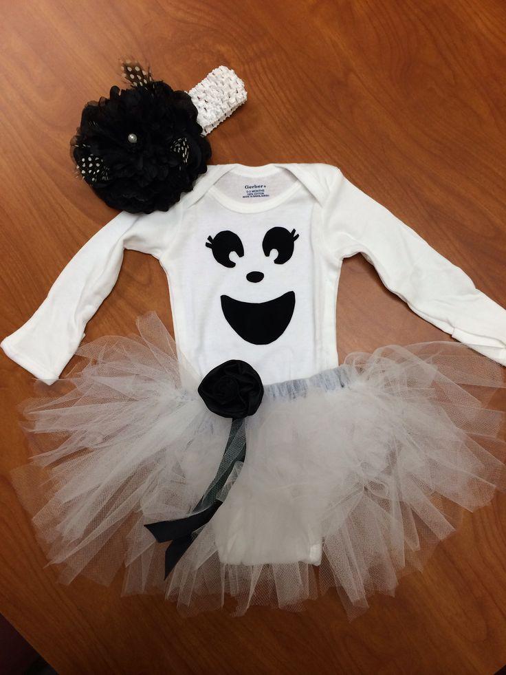 DIY Baby Ghost Costume