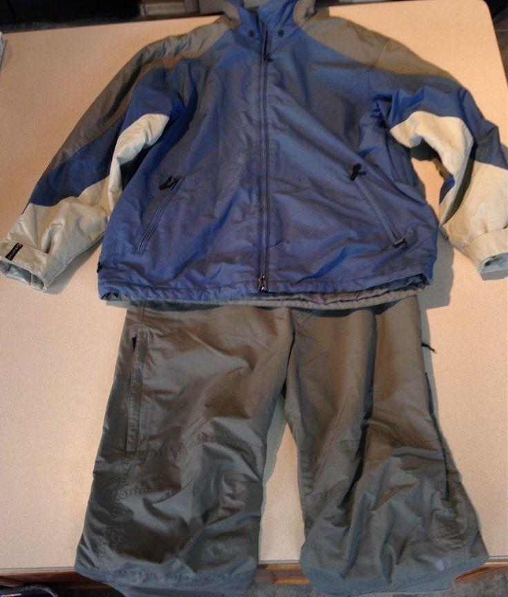 Black Dot Ski Jacket Pants Set Coat Parka Men's XL #BlackDot #Parka