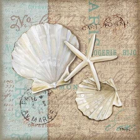 CUADROSTOCK.COM Tienda online de cuadros. Linen Shells I