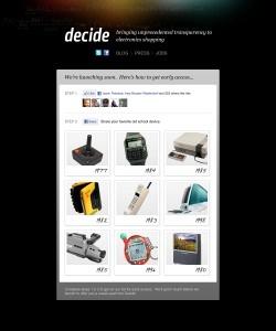 4/19, TechCrunch: Consumer Electronics Shopping Service Decide Raises $6 MillionPre-Launch