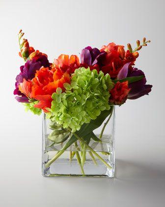 """Fiesta"" Faux Floral Arrangement by John-Richard Collection at Neiman Marcus."