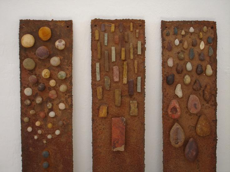 piedra, detalle, Chila trujillo