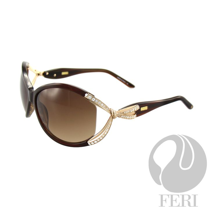 FERI Monaco - Brown Shield - FERI frames are manufactured in Italy - Lenses are UV 400 and provide protection against harmful UV rays - Mazzucchelli acetate is used - Mazzucchelli is the world leader in acetate production - Acetate is a hypo allergenic plastic - Acetate is used for its shine, color depth and durability  Invest with confidence in FERI Designer Lines.