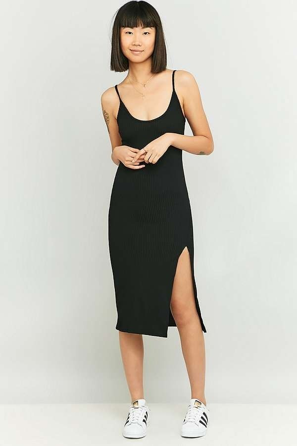 Black dress urban outfitters 80s