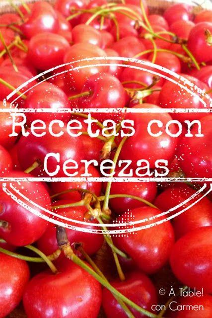 Mis Recetas con Cerezas