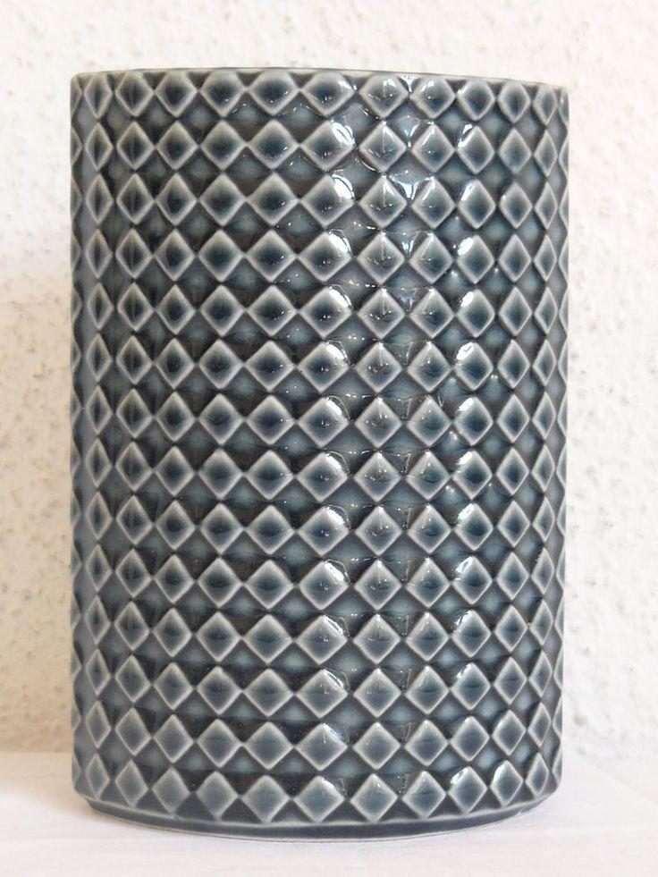 ARABIA Finland Vase HARLEQUIN by Kaarina Aho 60´s Design Op Art