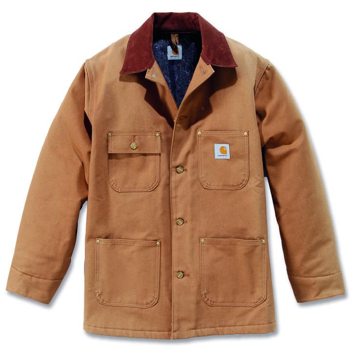 Carhartt Chore coat. http://www.oceansuppliesltd.com/store/p51/Carhartt_Duck_Chore_Coat.html