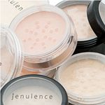 Mineral foundation/concealer and foundation/powder from Jenulence.  http://www.jenulence.com/Mineral-Makeup_c_163.html