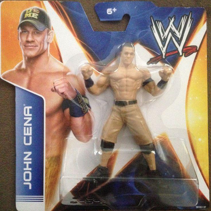 2013 Mattel WWE John Cena Action Figure Fastlane Wrestlemania | eBay