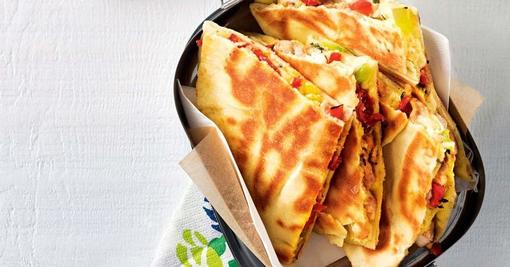 Need a speedy work lunch? These quesadillas are perfect for your midday meal.