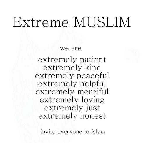 Extreme muslim