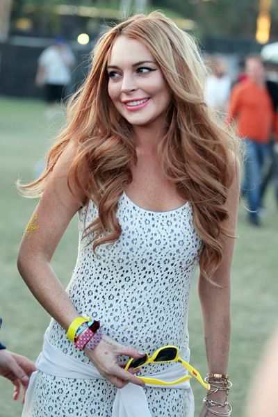 Coachella spottings: Lindsay Lohan, Nina Dobrev and Ian Somerhalder