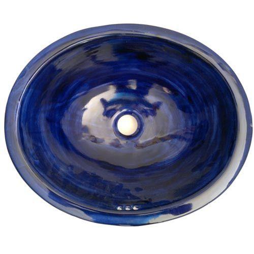 Traditional Mexican Sink-Azul Cobalto – Mexican Tile Designs