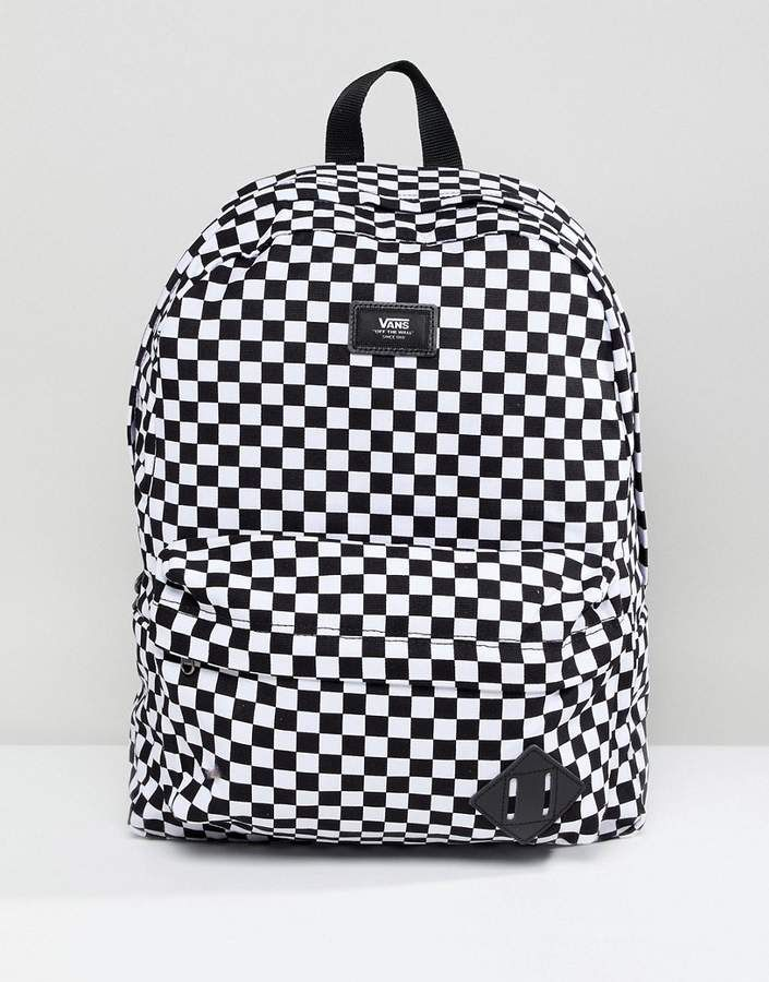 90dbd0f71b Vans Old Skool Ii Backpack In Checkerboard