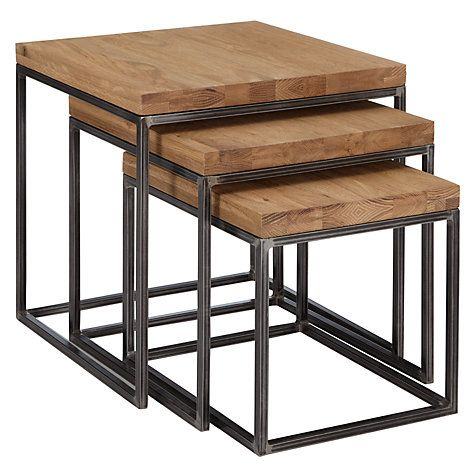 Buy John Lewis Calia Nest Of 3 Tables Online at johnlewis.com