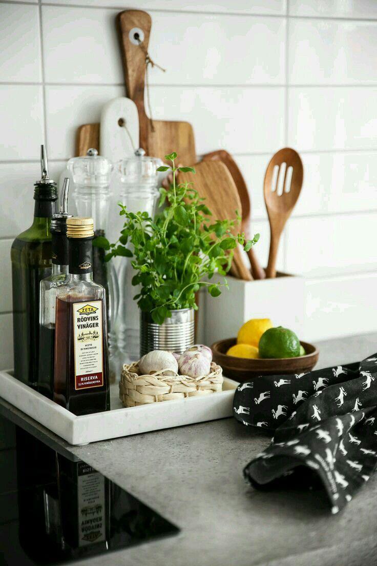 Cooking essentials storage