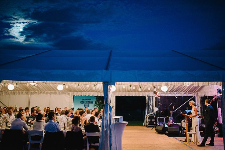 festoon lighting, rice paper lanterns, integrated timber flooring, clear wall marquee, south coast weddings, marquee weddings, south coast party hire