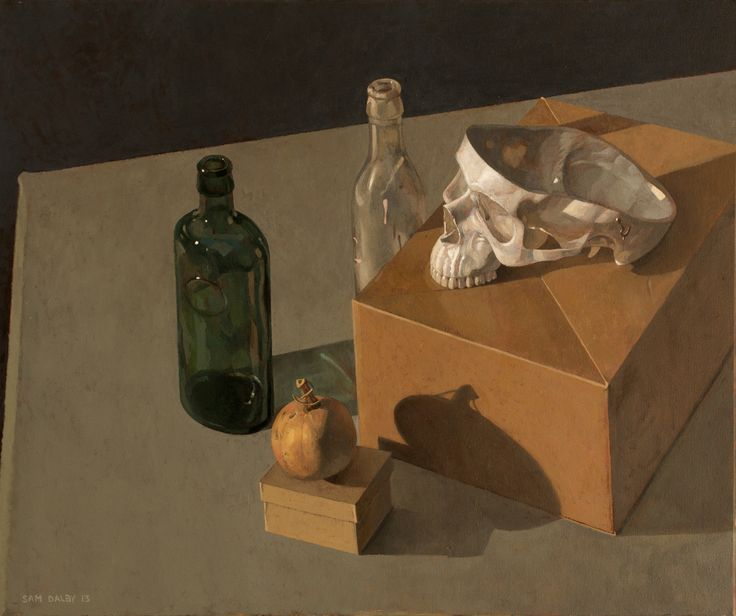 Still Life with Skull - by Sam Dalby