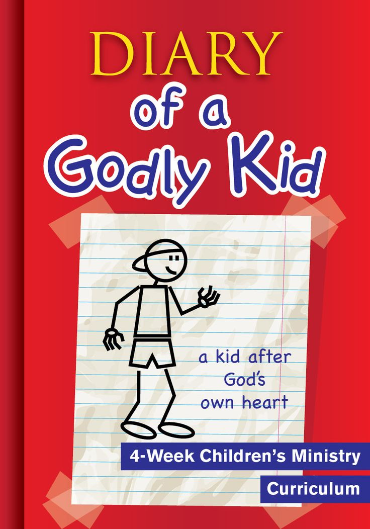 Diary of a Godly Kid 4-Week Children's Ministry Curriculum.