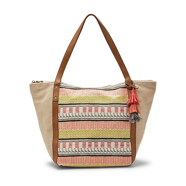 Relic Penelope Striped Tote, Drk Yellow