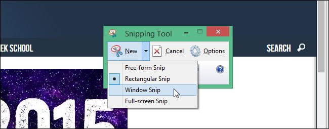 """How to Use the Snipping Tool in Windows to Take Screenshots /Captura pantallas con """"Recortes"""" de Windows"""