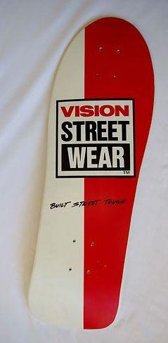 VISION STREET WEAR | Skate Addiction | Pinterest