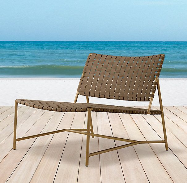 Find This Pin And More On Porch Furniture By Bemocked. Montecito Armless  Lounge Chair ...