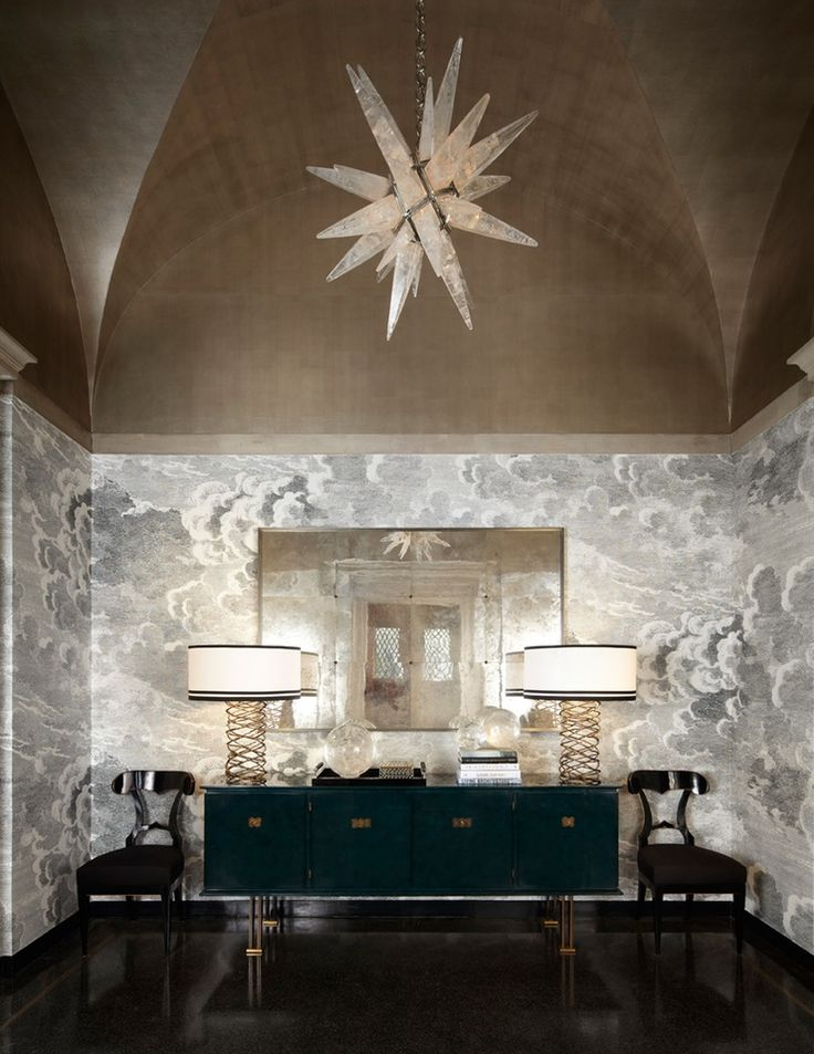 Entry  Lake Forest Showhouse 2013   by Lichten Craig