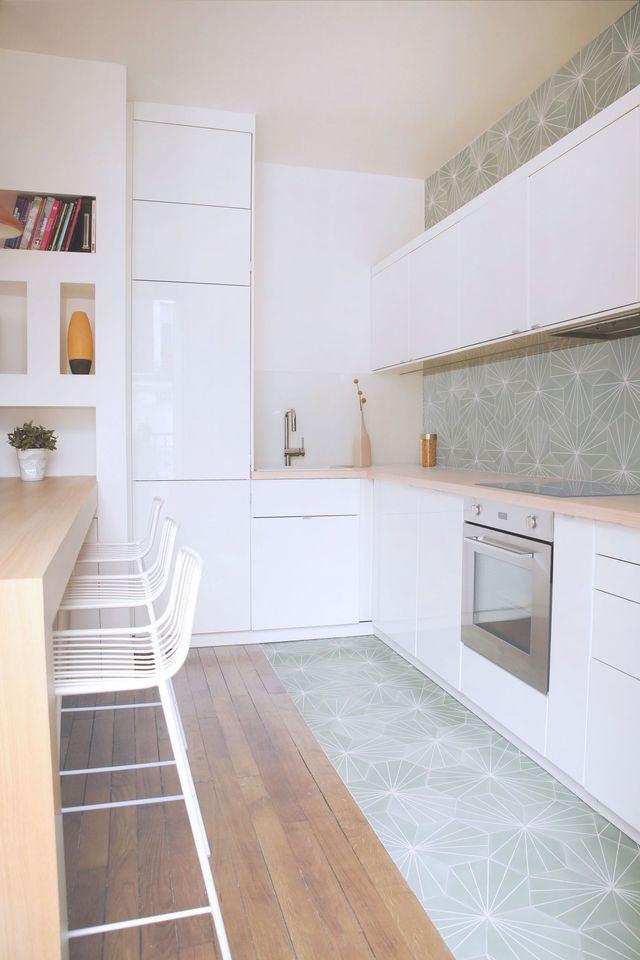 Carreaux de ciment : ils délimitent les espaces - Côté Maison http://amzn.to/2pWyPdv