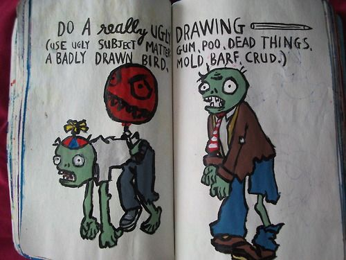 Wreck This Journal - Ugly Drawing