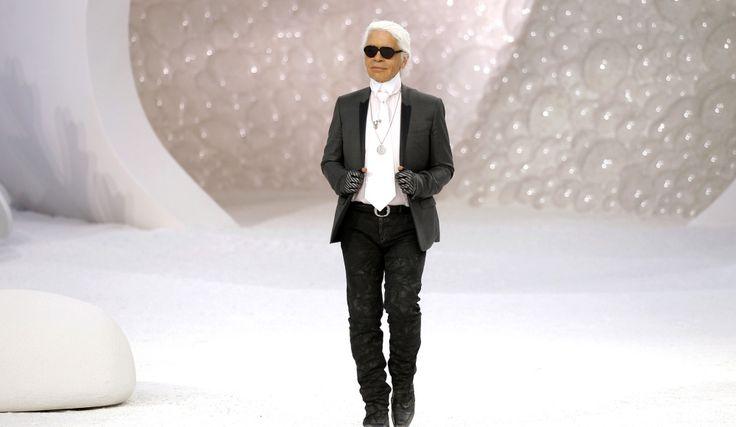 King of Monochrome - Karl Lagerfeld