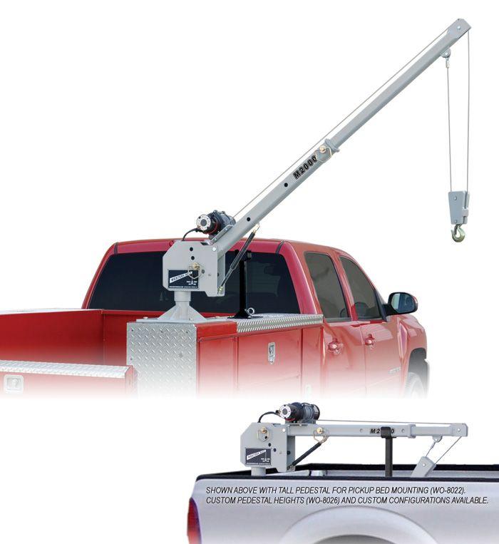 M2000 Western Mule Telescoping Boom Crane