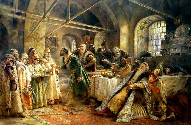 """""""Целовальный обряд"""", 1895 г. Санкт-Петербург"""
