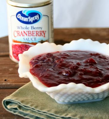 MIH Product Reviews & Giveaways: Cans Get You Cooking: Ocean Spray: Cranberry Orange Sauce