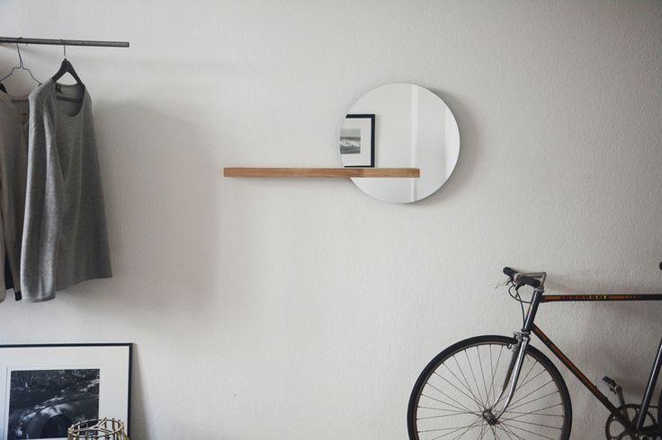 2. Garderoben - Spiegel Regal - PIP - ein Designerstück von FRIGO-Design bei DaWanda