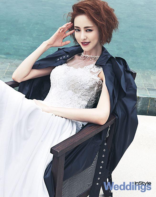 Lee Da Hee - InStyle Weddings Magazine March Issue '14