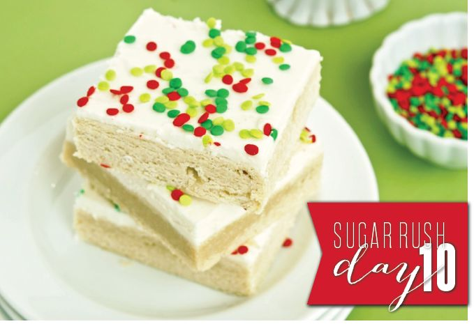Sugar Cookie Bars - Gonna Want Seconds