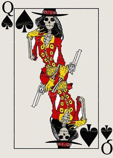 Queen of Spades by MushfaceComics