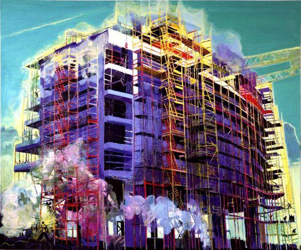 I paesaggi urbani di Simon McWilliams #arte #art