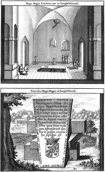 Kung Magnus gravkor i Vreta kyrka | Mimer bokförlag