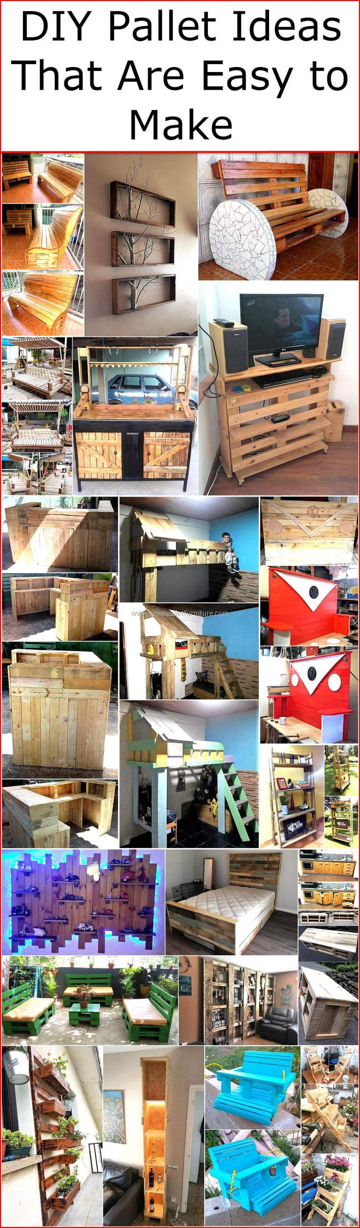 Wooden transport pallets have become increasingly popular for diy - Diy Pallet Ideas That Are Easy To Make