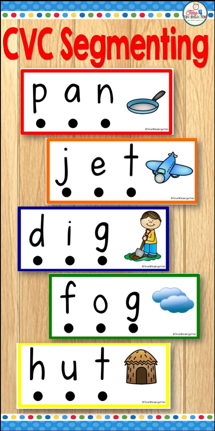 Segmenting And Blending Picture Cards For Cvc Words These Cards Are A Perfect Way To Start Your Literacy Cvc Words Cvc Words Kindergarten Cvc Word Activities [ 1440 x 720 Pixel ]