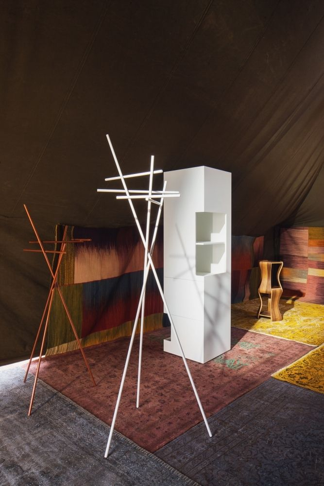 Atelier Pfister Collection 2013, Quarten wardrobe by Andreas Bechtiger and Le Day Highboard by Nicolas le Moigne