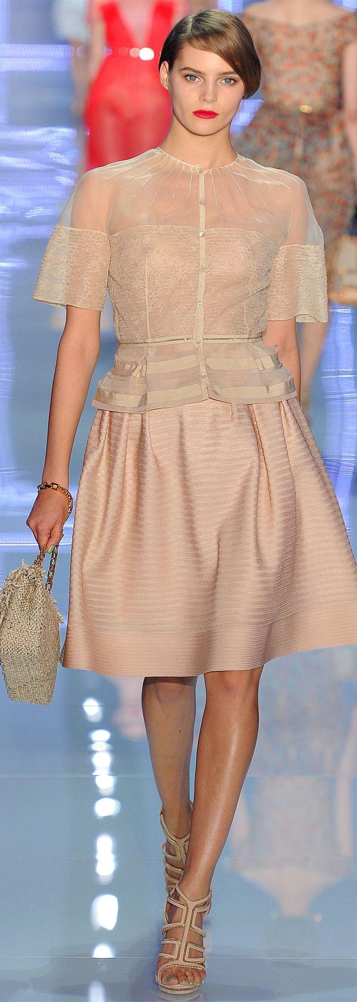 Christian Dior spring 2012 RTW.