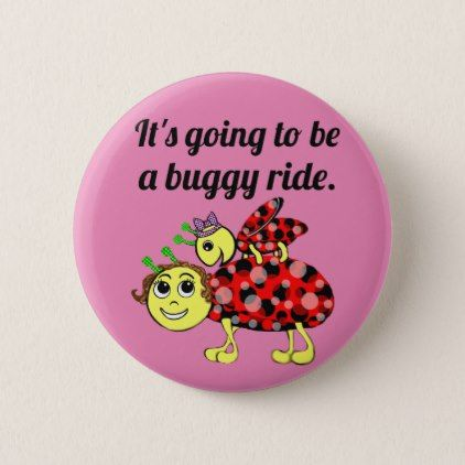 Ladybug Movie Buff Buckle or Button Up - accessories accessory gift idea stylish unique custom