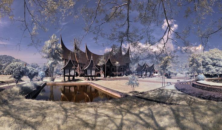 Rumah Gadang di Padang Panjang,